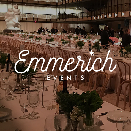 Branding and web design for New York event planner Emmerich Events