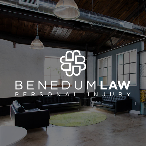 Custom brand and website design for Benedum Law in Philadelphia by Wicky Design