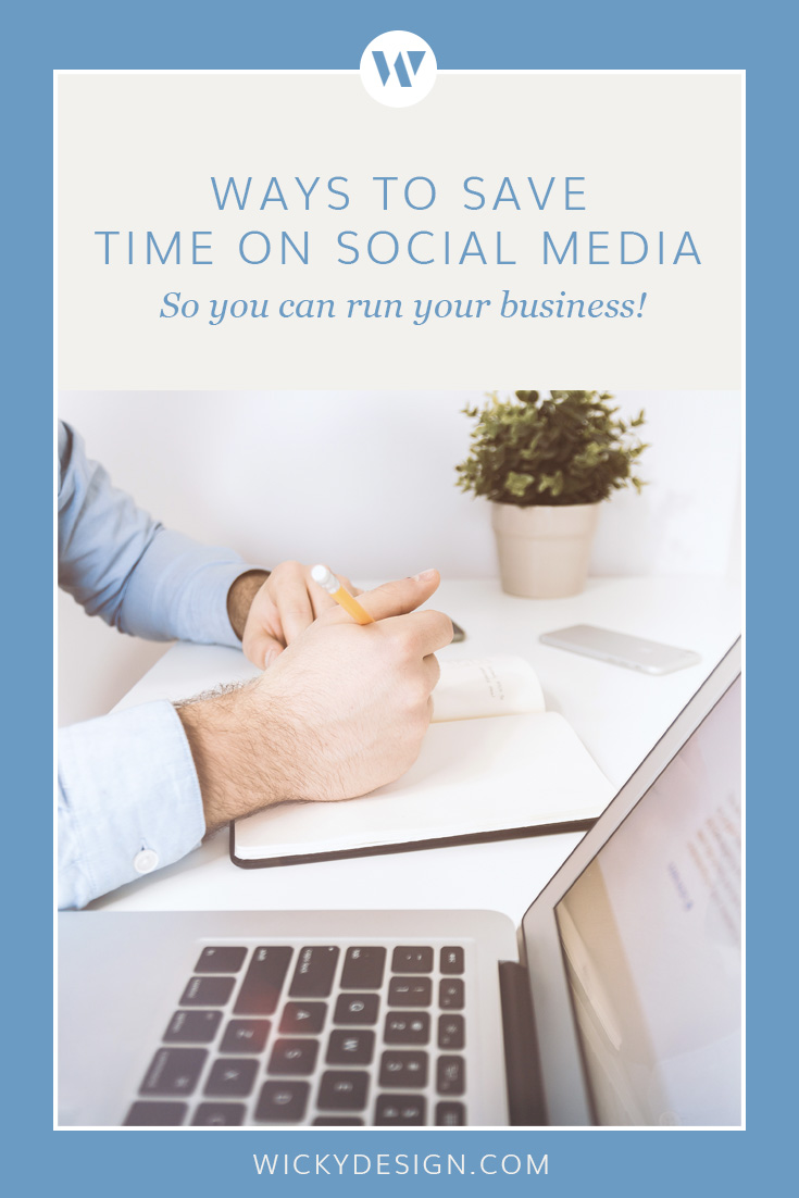 Time saving tips for social media.