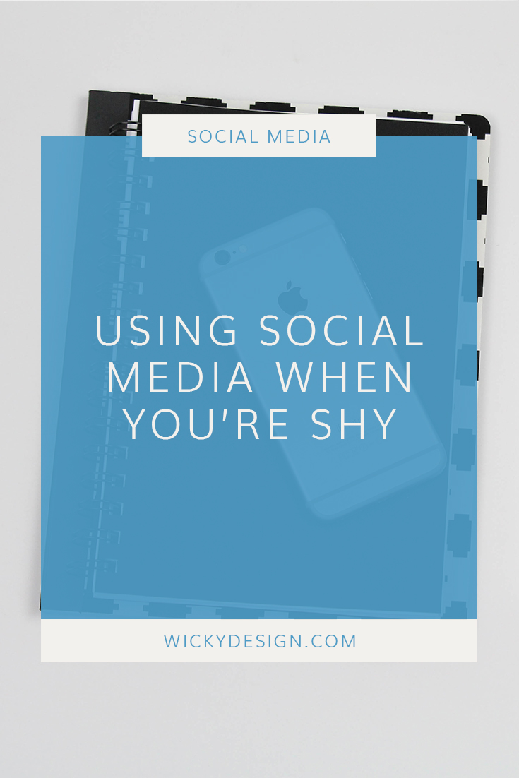 Social media has been a great way for us to connect and engage with fellow business owners. It has helped build our brand, land clients and develop meaningful partnerships. There has been a lot of good that has come out of our social media use, but being two shy introverts, we can't deny that it sometimes feels a little...weird. If you're shy as well, you've probably felt the same way as us and maybe you've been reluctant to post anything. Today, we're going to talk about what we've done to help get over our shyness about posting on social media.