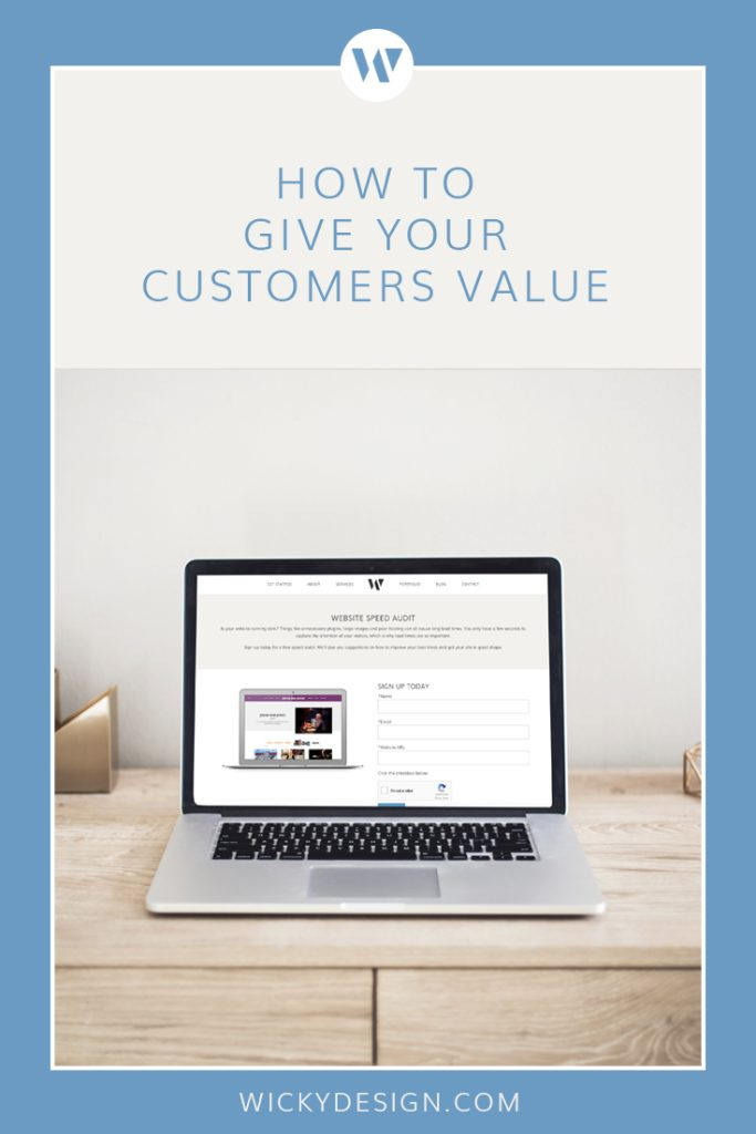 When customers have so many options, adding value to your marketing strategy can help you differentiate yourself from the competition. Value based marketing can help you increase brand awareness and help you acquire and retain customers.