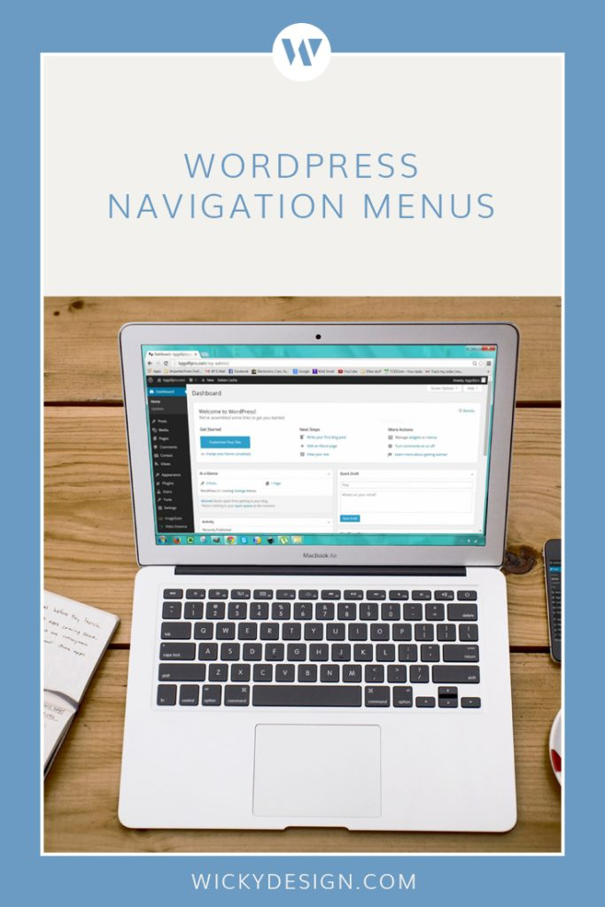How to edit and add to your WordPress navigation menu