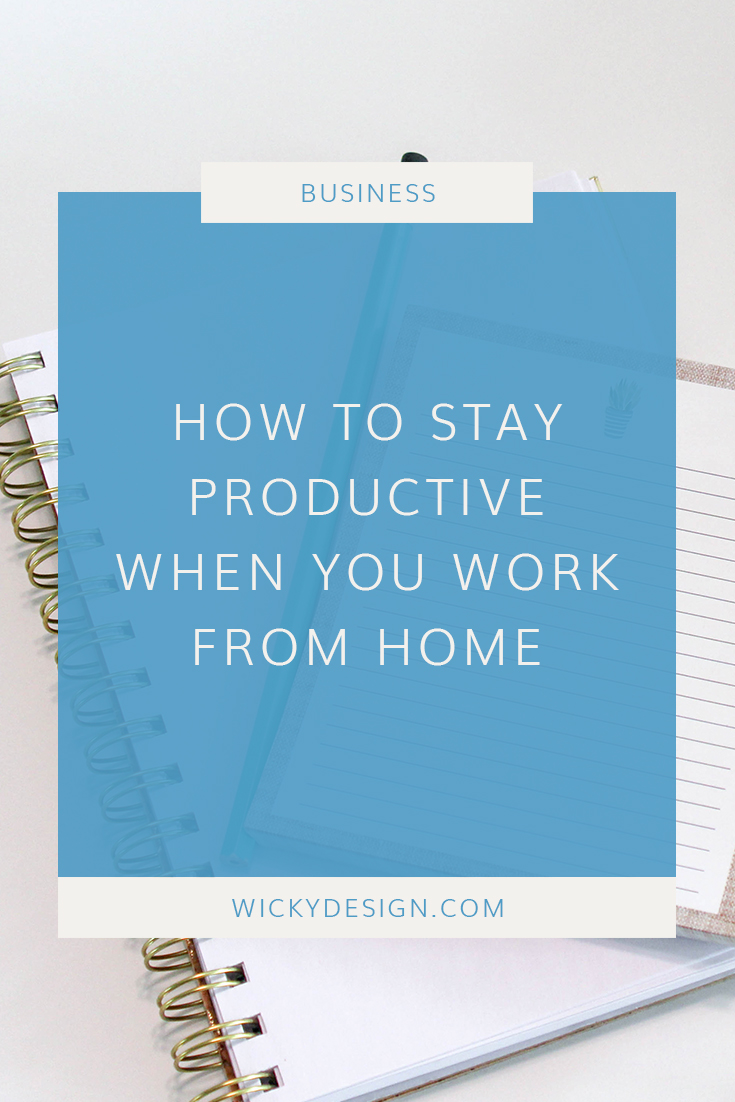 Working from home has its perks, but it can sometimes be hard to stay on track. Read our tips for staying productive when working from home