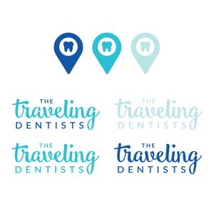 The Traveling Dentists logo design