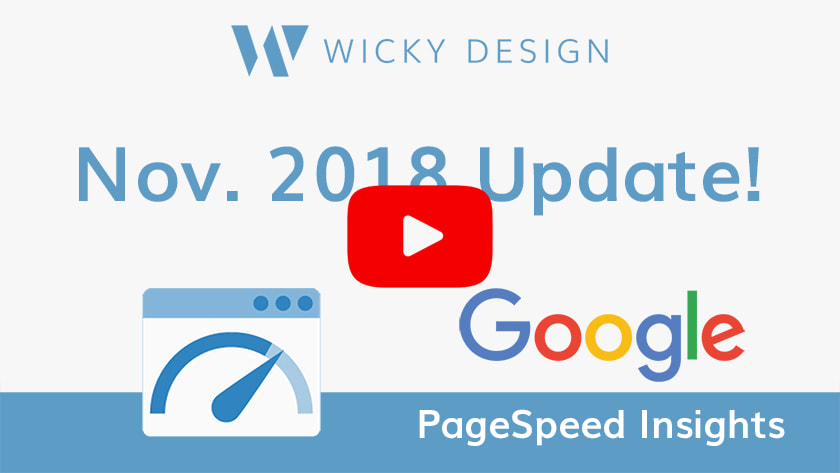 Google PageSpeed Insights | Wicky Design