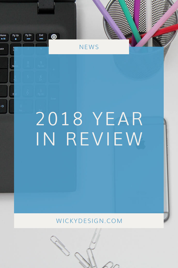 Wicky Design 2018 year in review