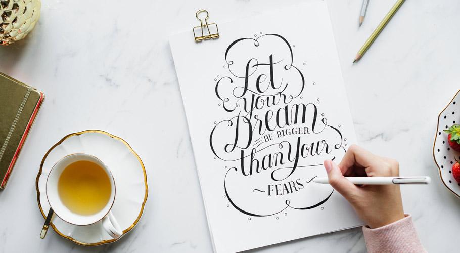 Typography impact on design