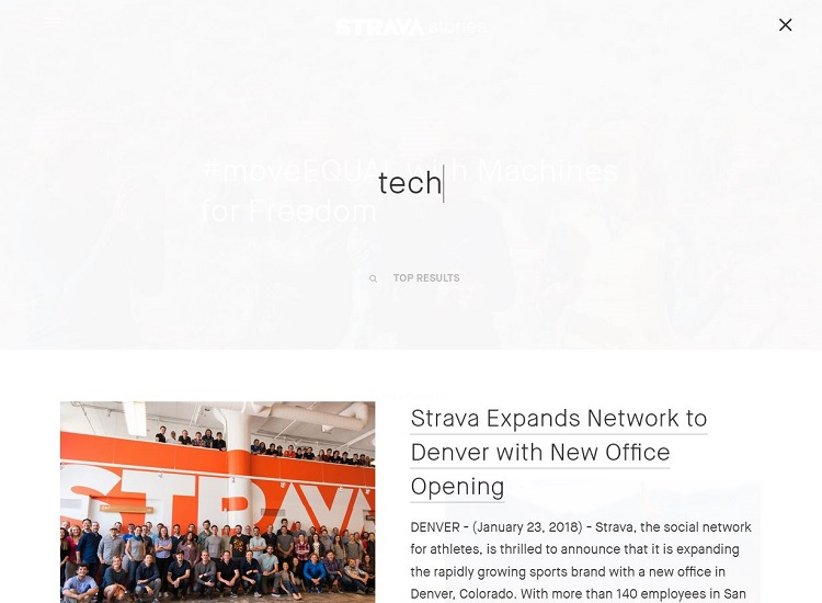 Strava Stories Blog