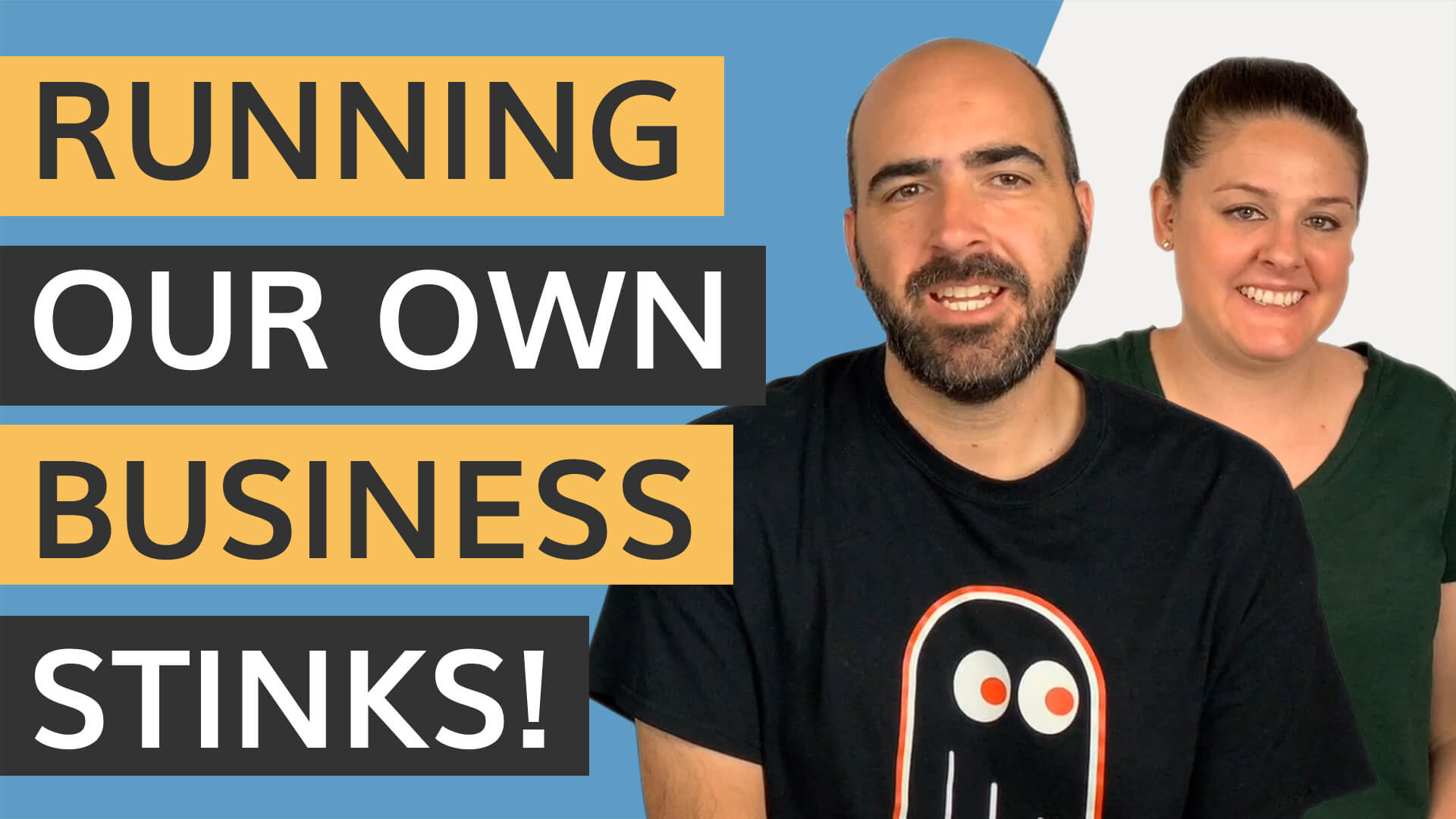 running your own business stinks