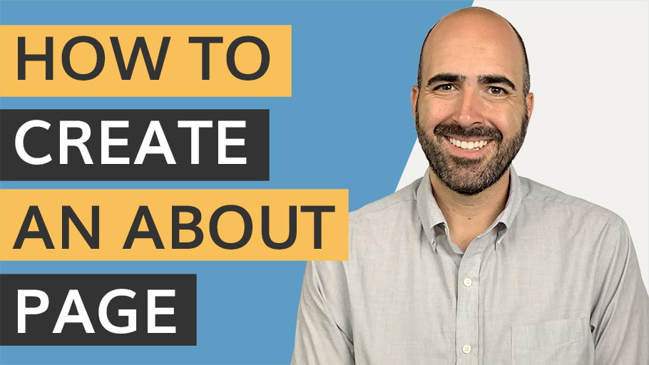 How to Create An About Page