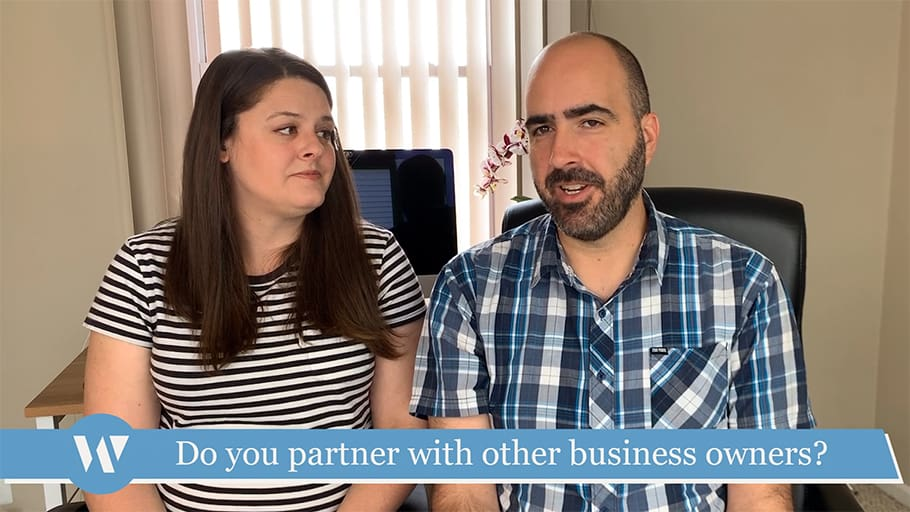 Do you partner with other business owners?
