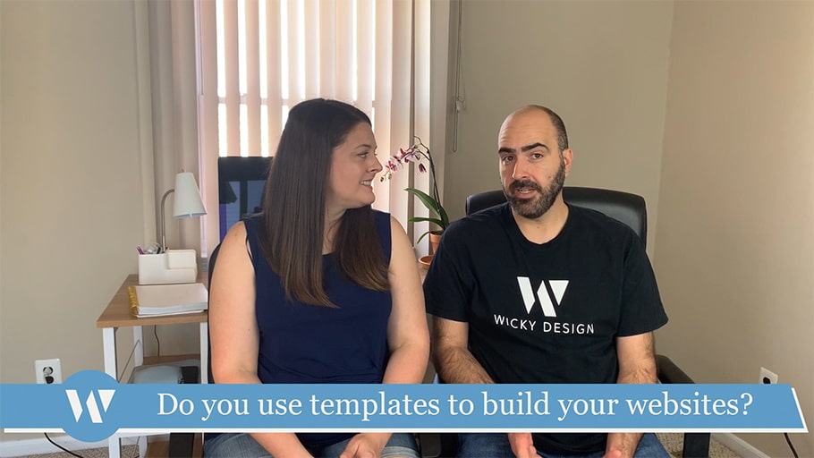 Do you use templates to build your websites?