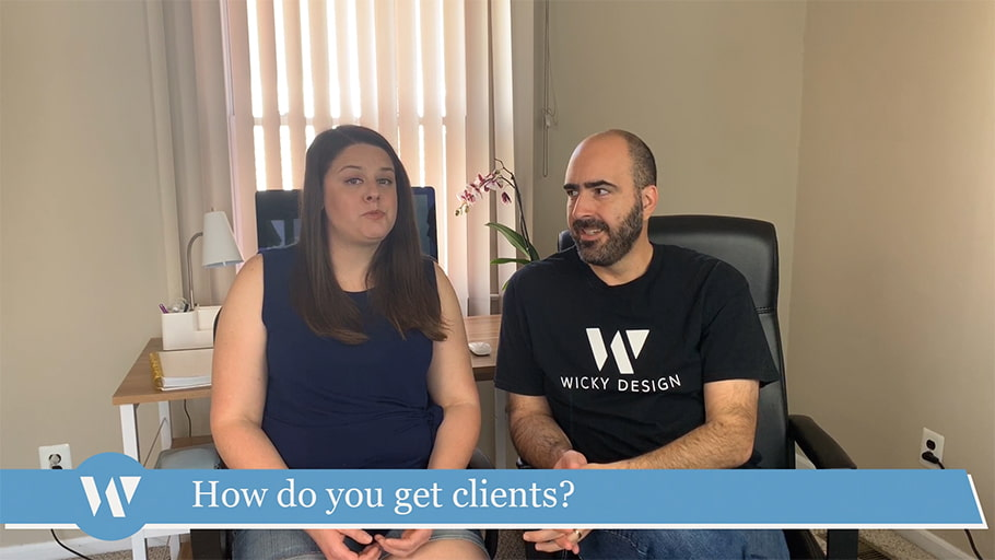 How do you get clients?