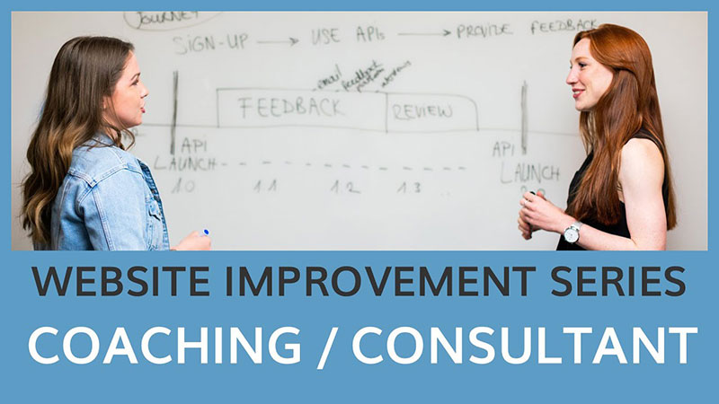 Website Improvement Series: Coaching/Consultant