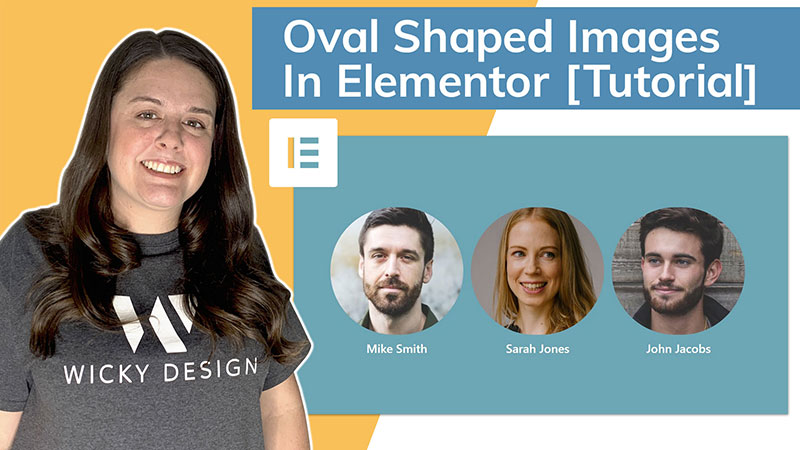 oval shaped images in Elementor [tutorial]