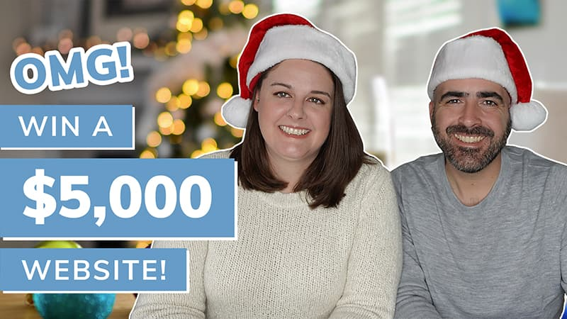 OMG! Win a free $5,000 website!