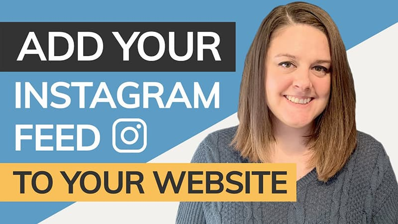 add your instagram feed to your website