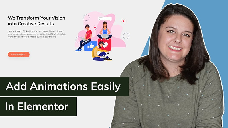 add Lottie animations easily in elementor