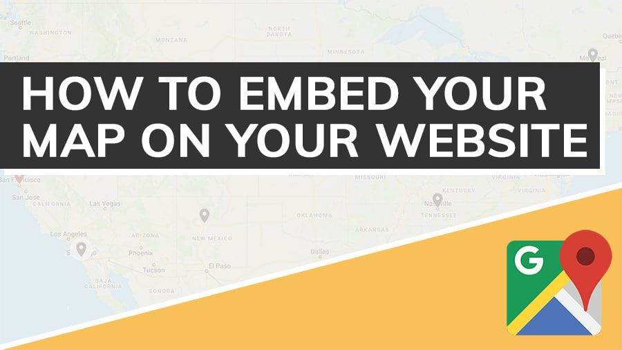 How To Embed Your Map On Your Website