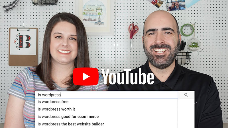 Is WordPress Good...YouTube Autocomplete