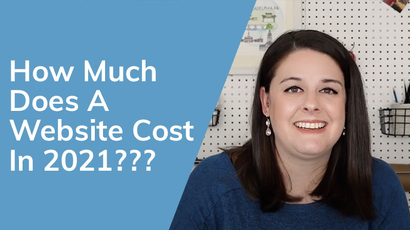 How much does a website cost in 2021?