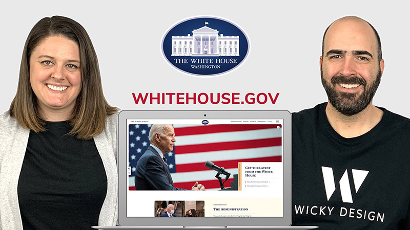 web designers react to the new White House website