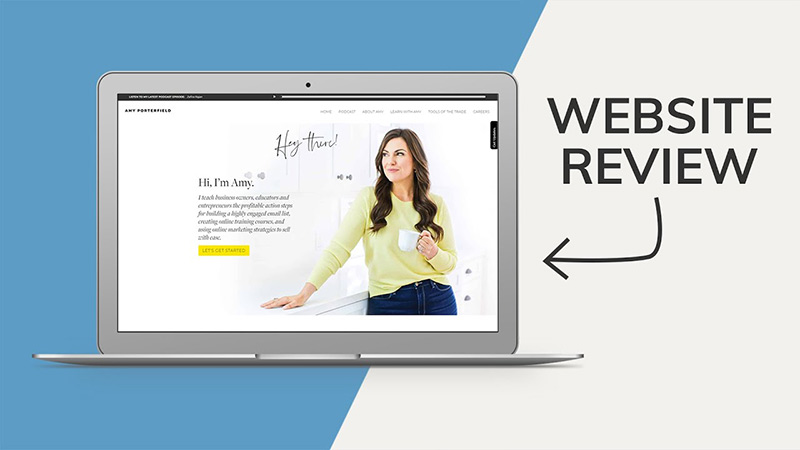 Amy Porterfield website review