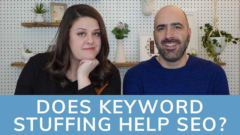 Does keyword stuffing help with SEO?