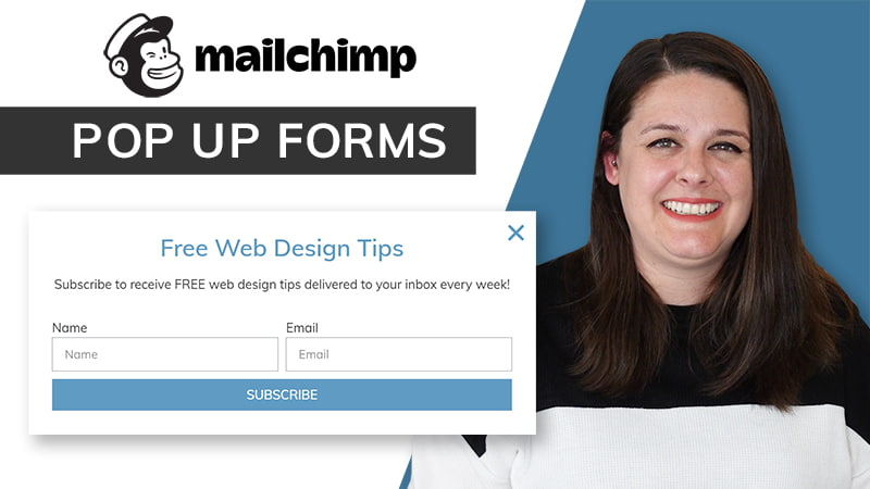 How to Add a MailChimp Popup with Elementor