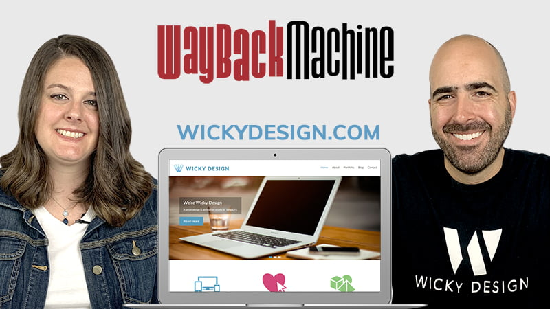 Wayback Machine Website Review