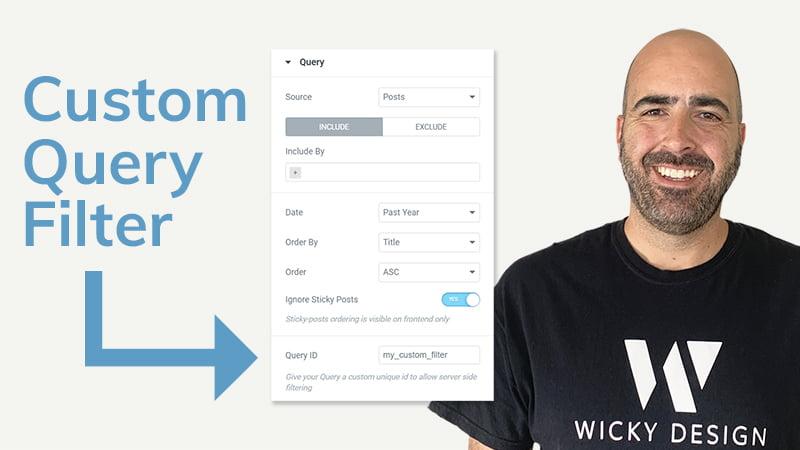 Custom Query Filter [Elementor Pro Tutorial]
