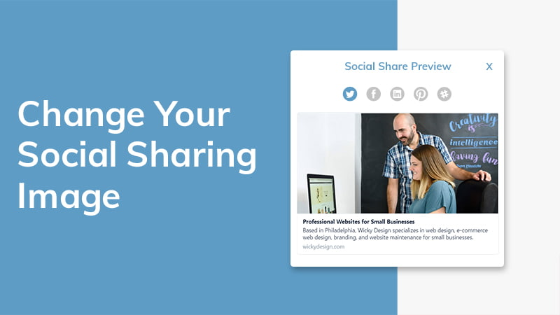 How to Update your Social Media Preview Cards