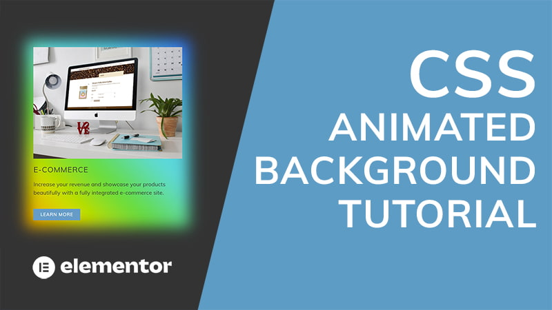 CSS Animated Background (Elementor Tutorial)